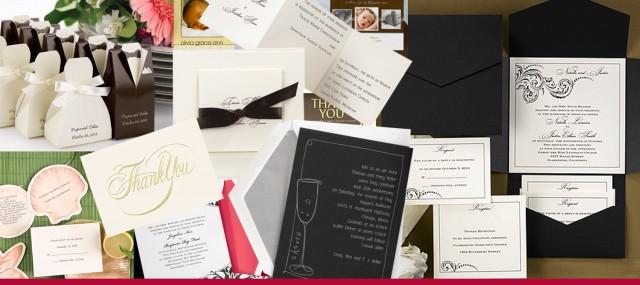 Social Stationary and Wedding Invitations